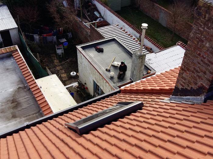 Renovatie plat/hellend dak